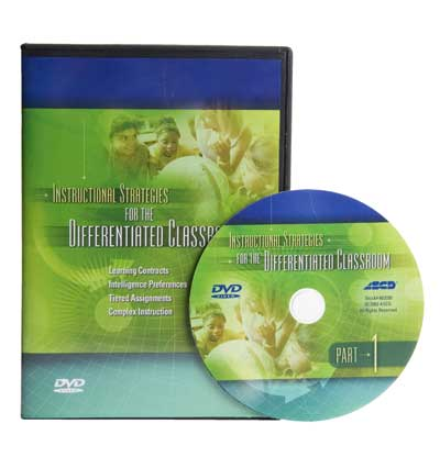 Instructional Strategies for the Differentiated Classroom, Part 1 DVD and Facilitator's Guide