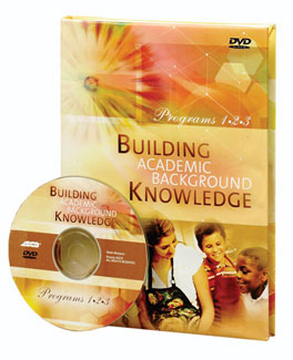 Building Academic Background Knowledge DVD and Online Facilitator's Guide