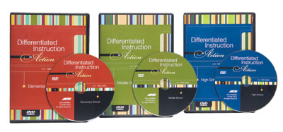 Differentiated Instruction in Action Three Disc Series