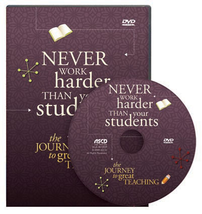 Never Work Harder Than Your Students: The Journey to Great Teaching DVD