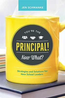 You're the Principal! Now What? Strategies and Solutions for New School Leaders EBOOK