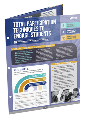 Total Participation Techniques to Engage Students (Quick Reference Guide)