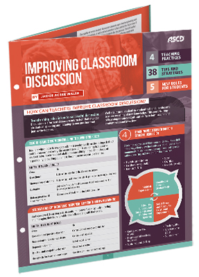 Improving Classroom Discussion (Quick Reference Guide)
