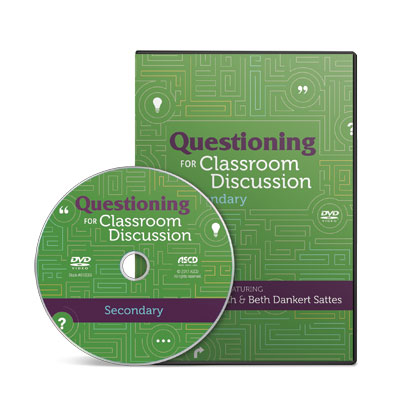 Questioning for Classroom Discussion- Secondary School (DVD)