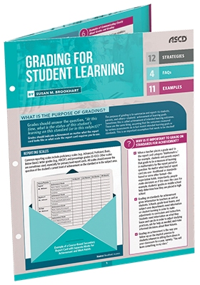 Grading for Student Learning  (Quick Reference Guide)