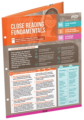 Close Reading Fundamentals (Quick Reference Guide)