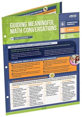 Guiding Meaningful Math Conversations (Quick Reference Guide)