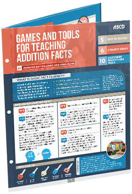 Games and Tools for Teaching Addition Facts (Quick Reference Guide)
