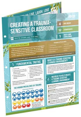 Creating a Trauma-Sensitive Classroom (Quick Reference Guide)