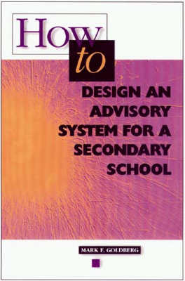 How to Design an Advisory System for a Secondary School (EBOOK)