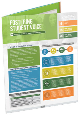 Fostering Student Voice (Quick Reference Guide)