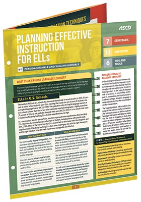 Planning Effective Instruction for ELLs (Quick Reference Guide)