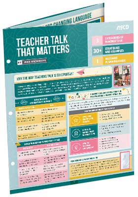Teacher Talk That Matters (Quick Reference Guide)