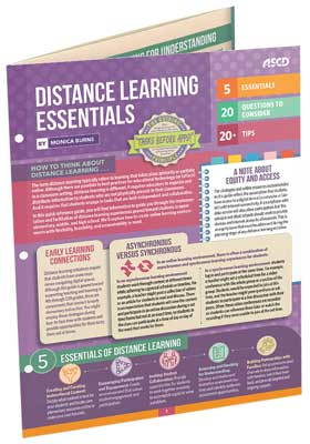 Distance Learning Essentials (Quick Reference Guide)