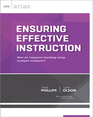 Ensuring Effective Instruction: How do I improve teaching using multiple measures? - ASCD Arias
