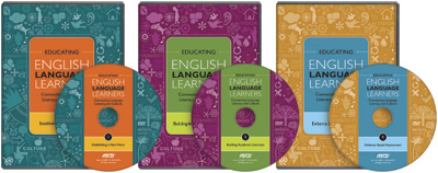 Educating English Language Learners: Connecting Language, Literacy, and Culture Three Disc DVD Set